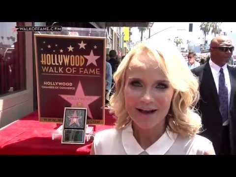 Kristin Chenoweth Walk of Fame Ceremony