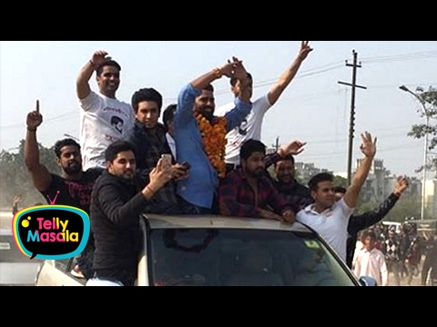 Bigg Boss 10 Winner Manveer Gurjar | Grand Welcome