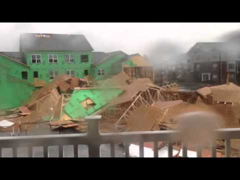 NC Condo Collapses From High Winds