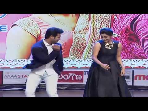 Aadi and Namitha Pramod Stage Performance at Chuttalabbayi Movie Audio launch