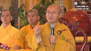 Ý nghĩa nương tựa ba ngôi tâm linh - TT. Thích Nhật Từ - 26/12/2015