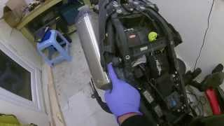 8. Speed Triple Exhaust replacement-HP Corse Hydroform