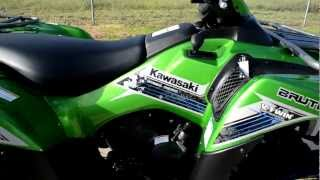8. Overview and Review: 2013 Kawasaki Brute Force 750 4X4 Special Edition in Candy Lime Green
