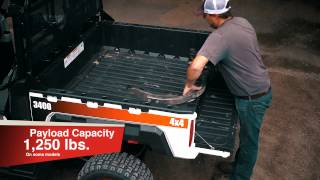 7. Bobcat 3400/3400XL UTVs: Built for the Farm