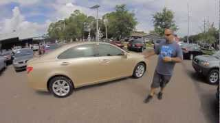 Autoline's 2009 Lexus ES 350 Walk Around Review Test Drive