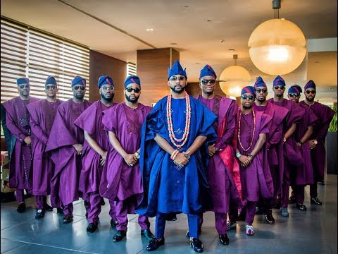 Full Video H: Banky W & Adesua  Full Wedding Video #BAAD2017