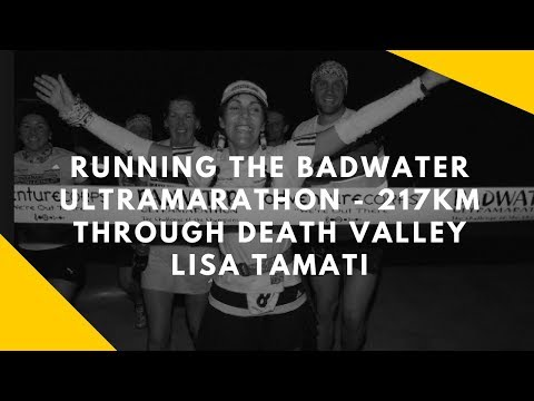 The Badwater ultramarathong 217km through death valley. Doco teaser