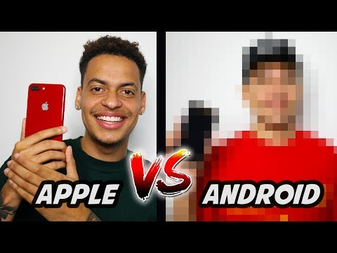 Apple vs. Android users