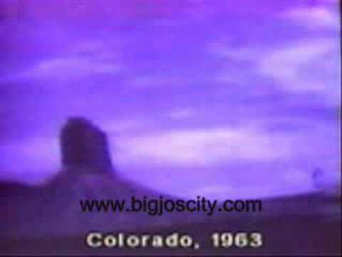 UFO or Alien Ship Clip in Colorado 1963, Aliens And UFOS