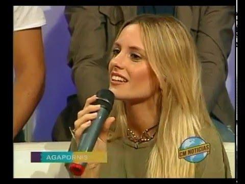 Agapornis video Entrevista  - Estudio CM 2016