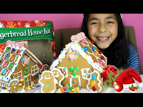 gingerbread - Merry Christmas every one today we can finally upload this video. I'm really happy to share my Christmas gingerbread house with you guys, I love it and I really like the way it turn out, I...