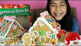Christmas Gingerbread House| Christmas 2014|B2cutecupcakes