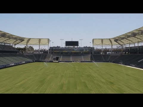 Video: The field is set! Get ready for the LA Galaxy to take on the Houston Dynamo