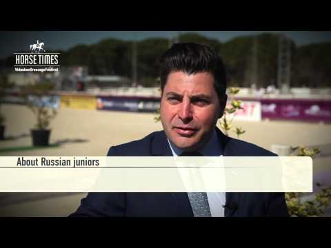 Raphael Saleh, FEI Judge 4* on Vidauban show and Russian juniors