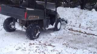 6. Polaris Ranger Midsize 800 Custom Snow Plow Mount Project