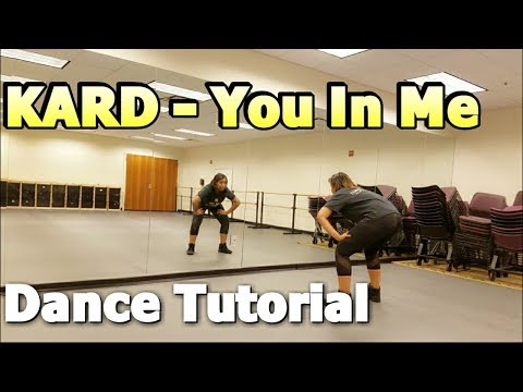 KARD _ You In Me DANCE TUTORIAL Part 1 видео