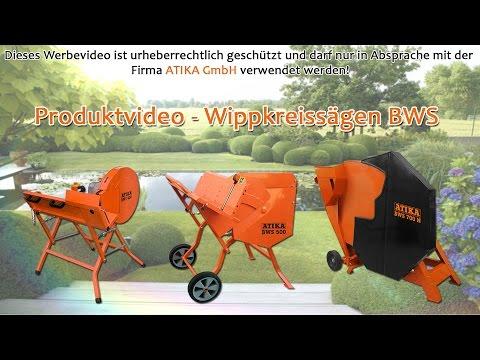 ATIKA Produktfilm - Wippkreissägen BWS 400 / 500 / 700