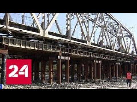 Заменен последний пролет моста, прослужившего почти 100 лет