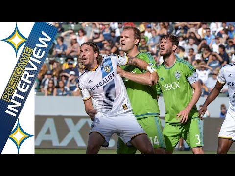 """Video: Alan Gordon on sinking Sounders: """"It wasn't pretty but we won our battles""""   POSTGAME"""