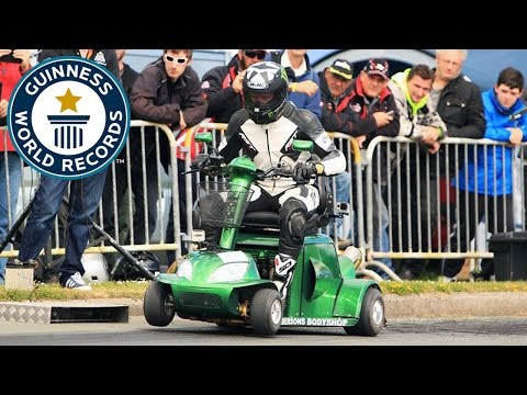 A Record-Breaking 107 MPH Mobility Scooter
