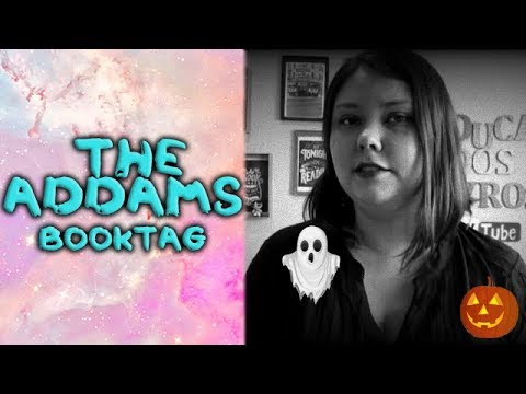 The Addams book tag | 2017