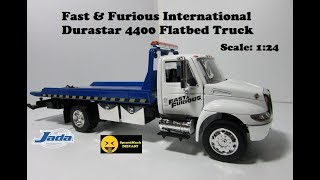 Jada 1 24 Fast   Furious International Durastar 4400 Flatbed Truck Diecast