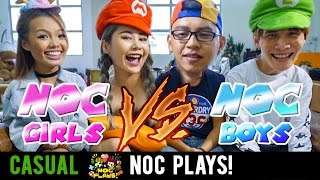 Video NOC Plays Mario Kart 8 (Girls vs Boys) MP3, 3GP, MP4, WEBM, AVI, FLV November 2018