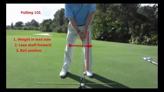 Video Putting 101 How to Control the Club Face and Distance MP3, 3GP, MP4, WEBM, AVI, FLV September 2018