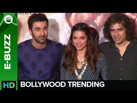 Ranbir Becomes 'Ved' At The Tamasha Trailer Launch