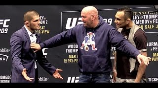 Video UFC 209 Intense Face-Offs: Woodley vs. Thompson and Nurmagomedov vs. Ferguson MP3, 3GP, MP4, WEBM, AVI, FLV Februari 2019