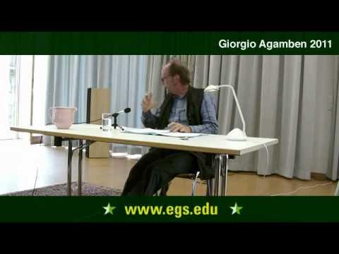 Giorgio Agamben. Sprache, Medien und Politik. 2.011