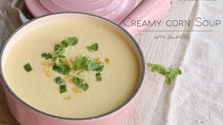 With one of the prototypical and central ingredients in Mexican Cuisine, this creamy corn soup is beyond divine! Also with a hint of ...