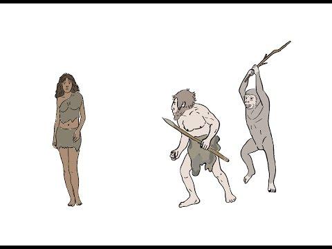 Происхождение человека. Короткий мульт