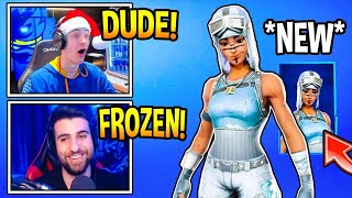 Streamers react to *NEW* frozen renegade raider!