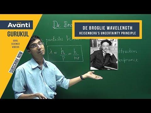 De Broglie wavelength and Heisenberg's Uncertainty Principle   Chemistry for Class 11   - Ashwin Sir