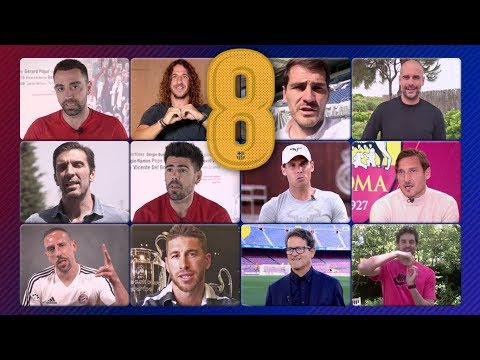 The world of sport pays tribute to Andrés Iniesta (видео)