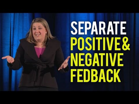 how to provide negative feedback in a positive way