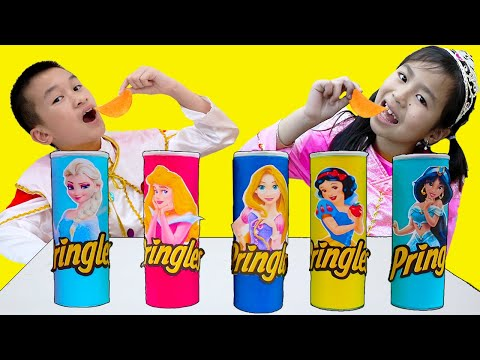 Princess Magic Song | Jannie & Andrew Pretend Play Nursery Rhymes Sing-Along Kids Songs