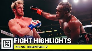 HIGHLIGHTS | KSI vs. Logan Paul 2