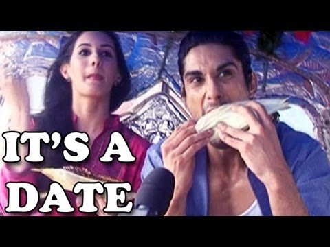 Issaq actors Prateik Babbar & Amyra on a date