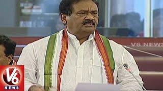 Shabbir Ali Speaks On Budget Allocation    TS Legislative Council    V6 News