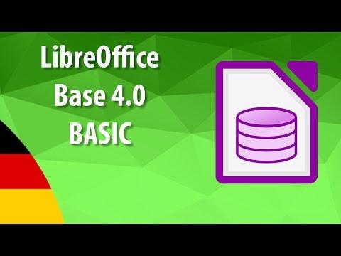 Erstellen Sie eine neue Datenbank unter dem Namen test im Ordner IL-ates\LO_Base auf dem...