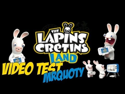 The Lapins Cr�tins Land Wii U