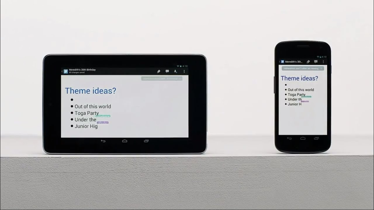 Google Drive for mobile