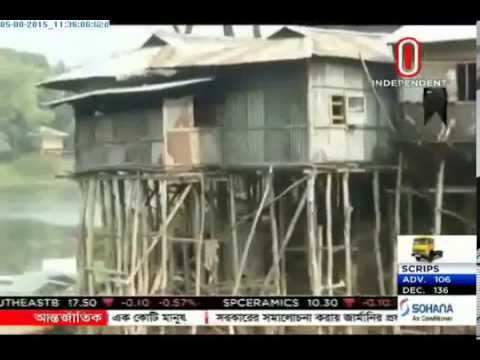 Risky homes in Rangamati hills poses huge death threat (05-08-2015)