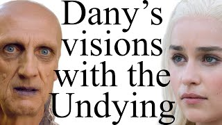 Daenerys has some crazy visions in the House of the Undying. What do they mean for the future and past of Game of Thrones? What are the three fires, mounts ...