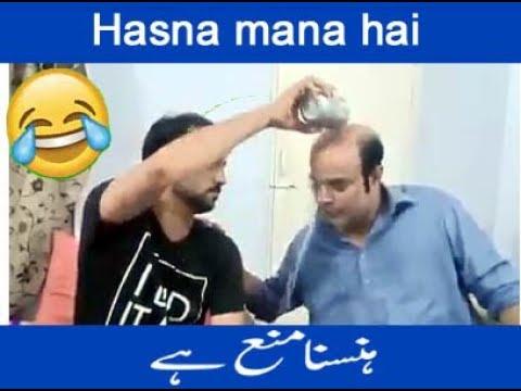 Asif Pahor And Gamo Sindhi Latest Funny 2019 | Hasna Mana Hai | Sindhi Latest Funny