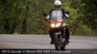 5. MotoUSA Comparison: 2012 Suzuki V-Strom 650
