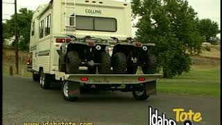 7. Idaho Tote... Tow your atv, motorcycle, golf cart behind your rv.