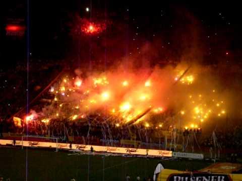SUR OSCURA salida - noche amarilla 2012 - Sur Oscura - Barcelona Sporting Club